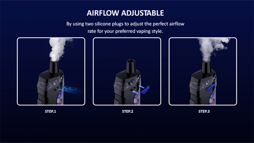Vaporesso Target PM80 SE Sub Ohm Pod Mod Kit Adjustable Airflow