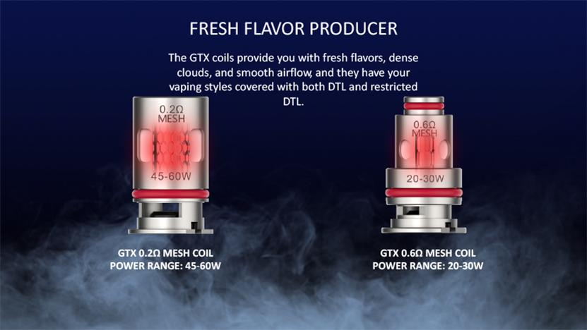 Vaporesso Target PM80 SE Sub Ohm Pod Mod Kit GTX Series Coil