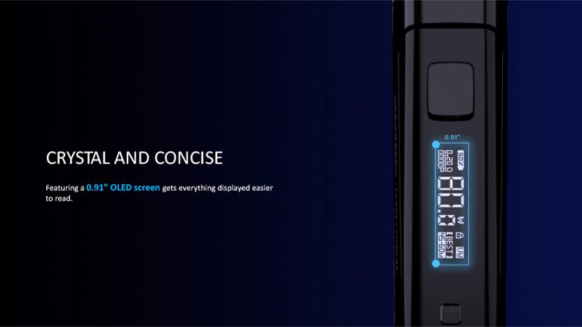 Target PM80 SE Pod Kit OLED Screen