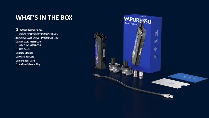 Target PM80 SE Mod Pod Kit Package