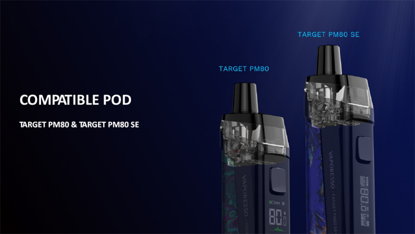 Vaporesso Target PM80 SE Mod Pod Kit Pod Cartridge