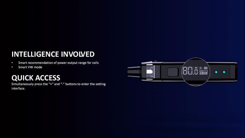 Target PM80 SE Pod Mod Kit Screen Display