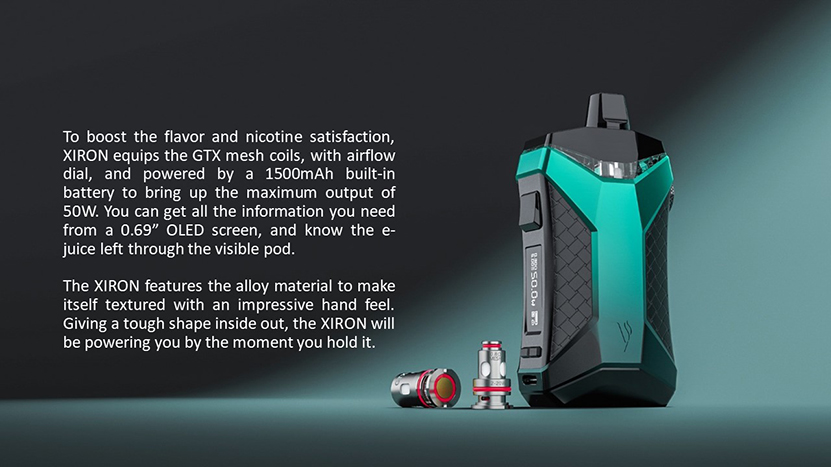 XIRON Pod Mod Kit Description