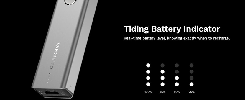XROS 2 Pod Kit Tiding Battery Indicator