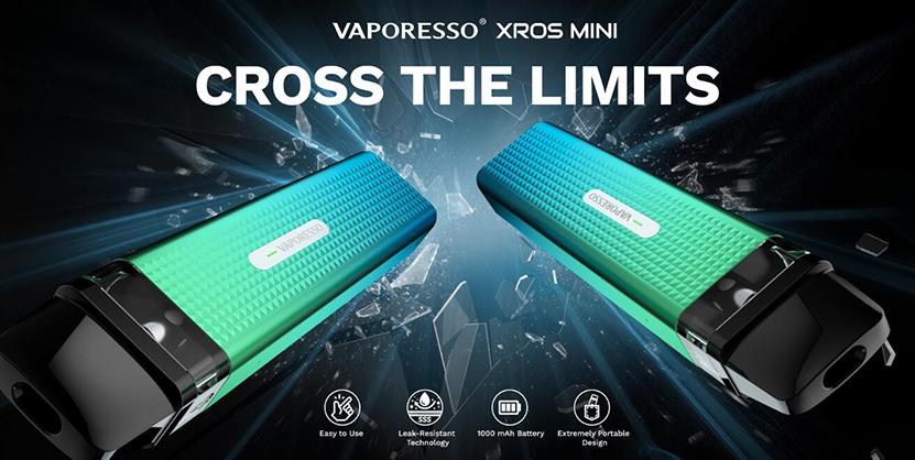 Vaporesso XROS Mini Pod Kit Cross the limits