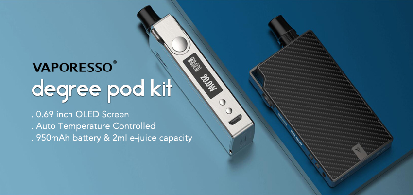 Vaporesso Degree Pod Kit Banner