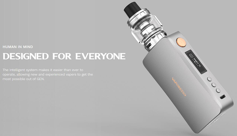 Recursos do kit Vaporesso GEN TC 03
