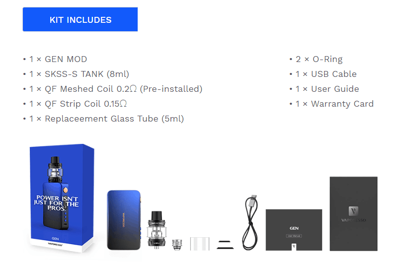 Vaporesso GEN 220W Vape Kit Features 05