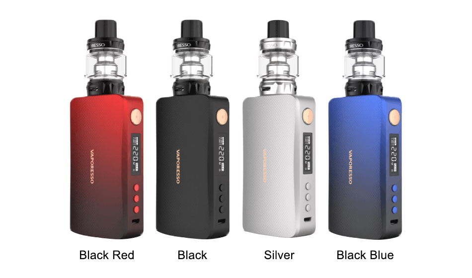 Cores do kit Vaporesso GEN Vape