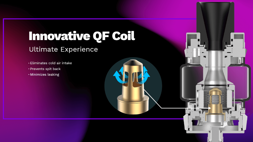 Vaporesso Luxe ZV Kit with QF Coils