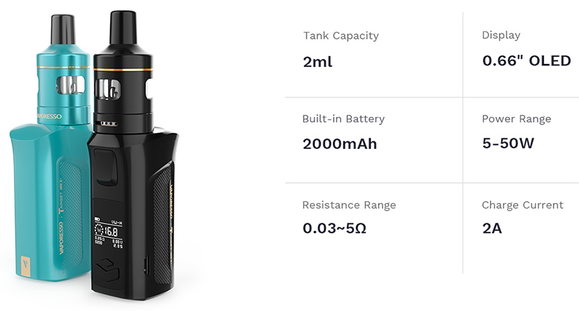 Vaporesso Target Mini 2 Kit Features 05