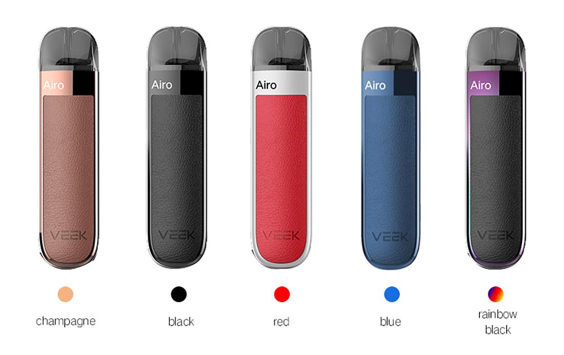 Veiik Airo Pod Kit Colors