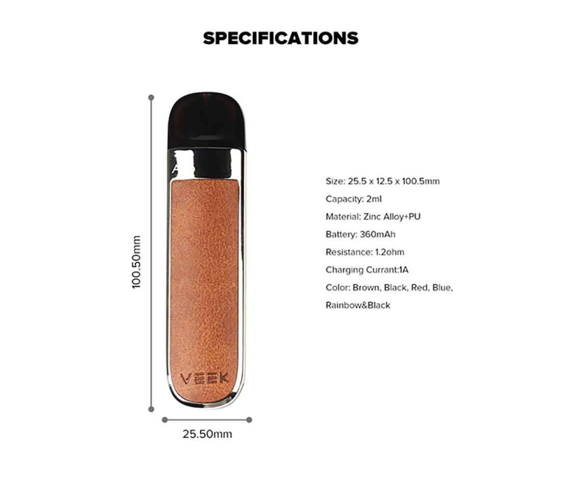 Veiik Airo Vape Pod Kit Specification