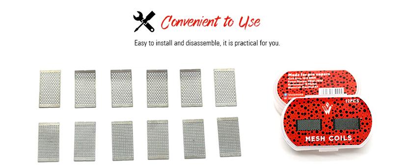 Vivismoke Mesh Coil for Profile RDA Convenient to use