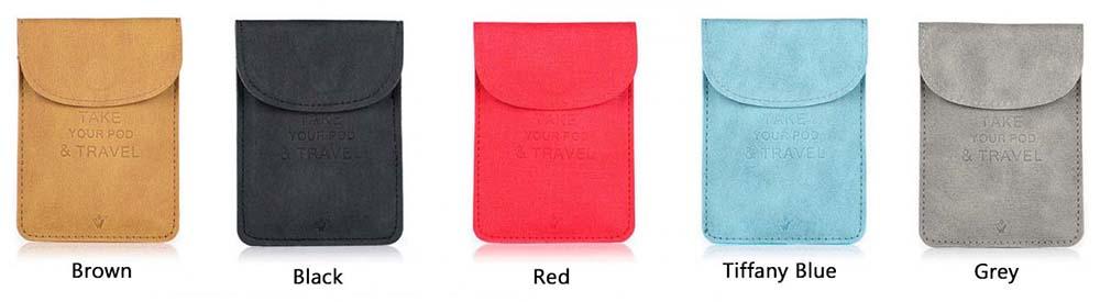 Vivismoke Pocket Case Colors