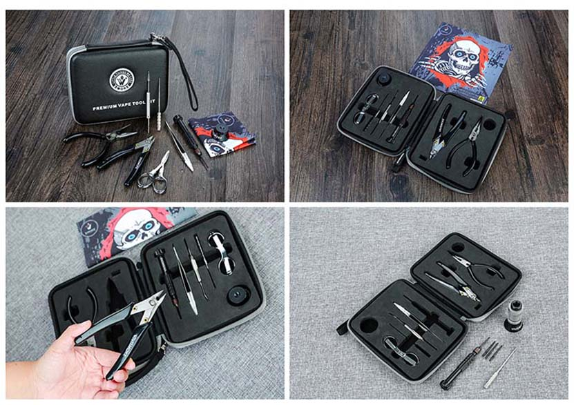 Vivismoke Premium Vape Tool Kit Real Shot