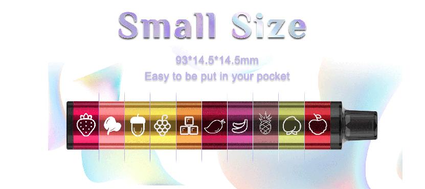 Vizz Lit Disposable Pod Kit size