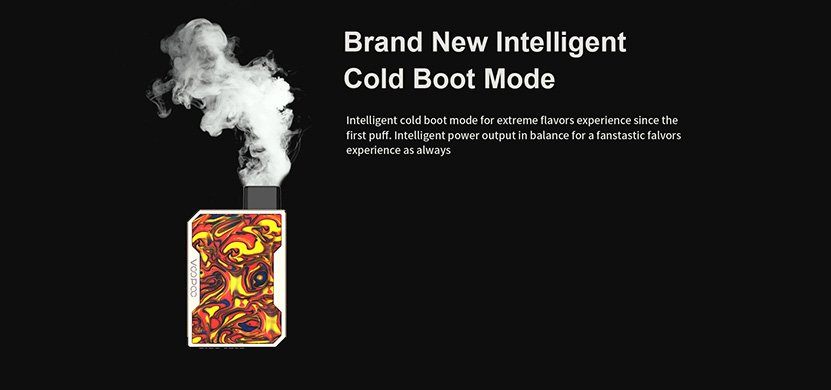 Voopoo Drag Nano Pod Kit Cold Boot Mode