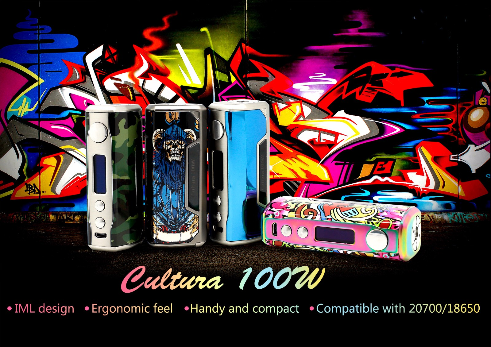 Vzone Cultura 100W MOD Features 1
