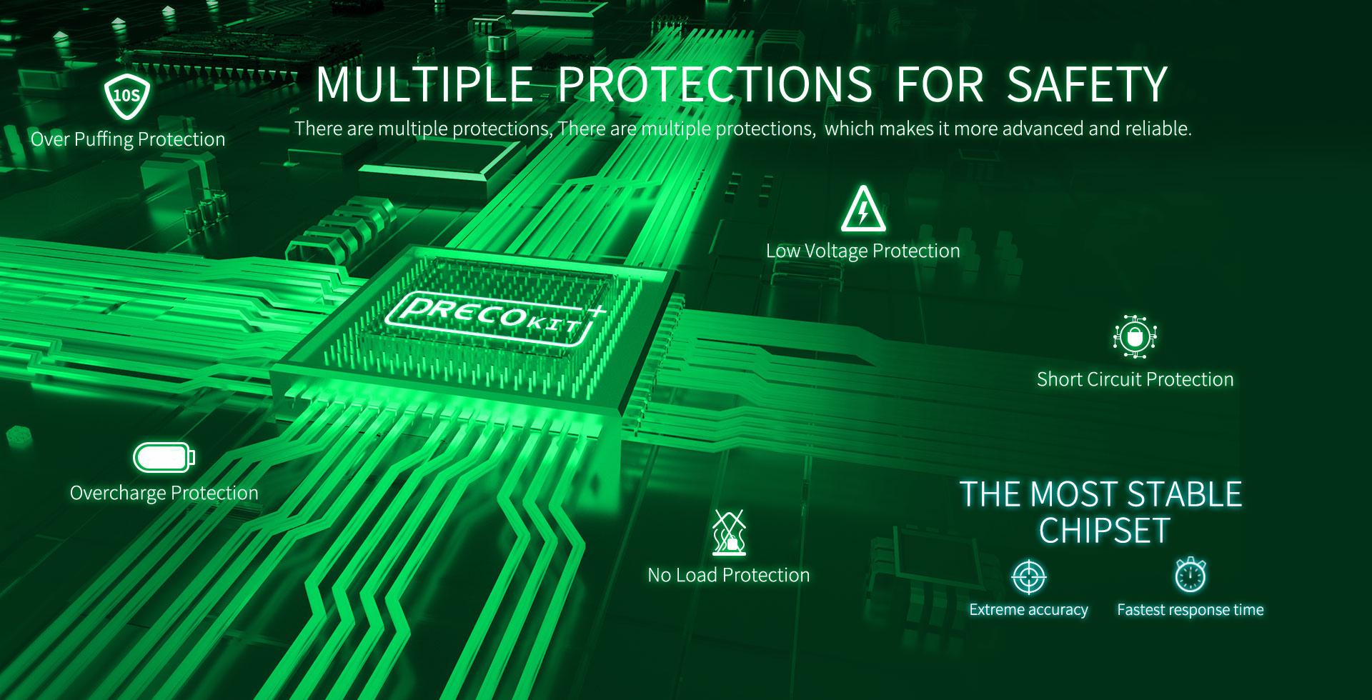 Vzone Preco Plus Kit Features 6