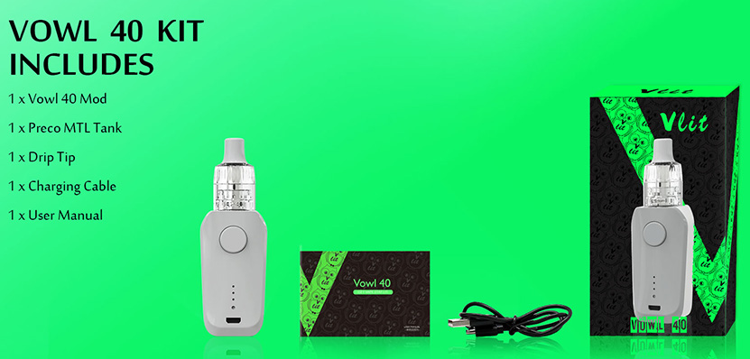 Vzone Vowl 40W Kit Features 11