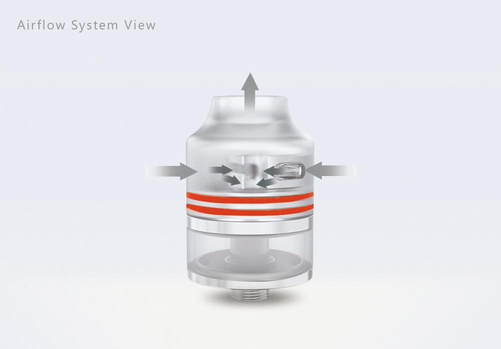 Wasp Nano RDTA Atomizer Airflow