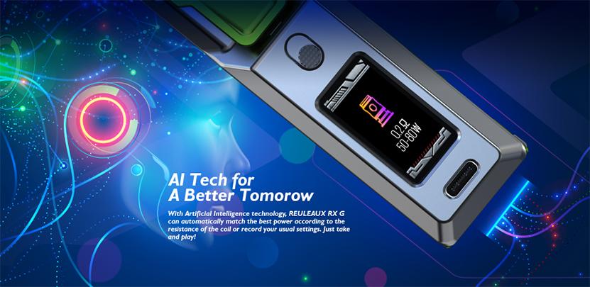 Wismec Reuleaux RX G Kit AI Tech