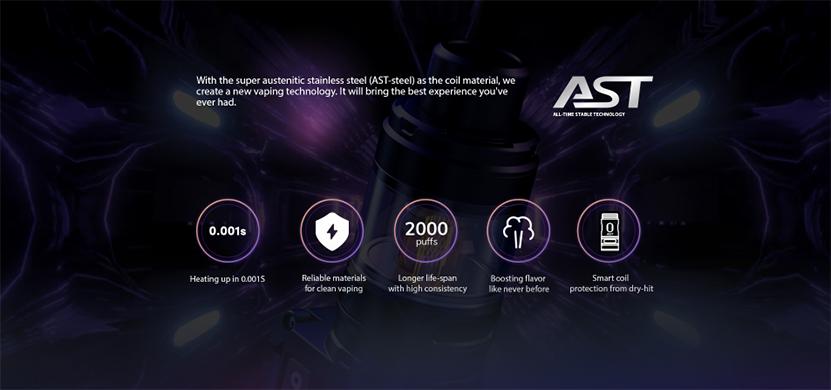 Wismec Reuleaux RX G Kit AST Chipset