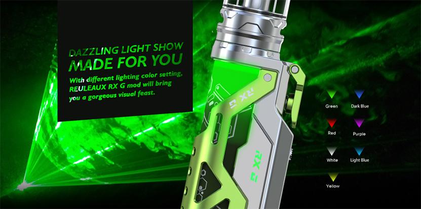 Wismec Reuleaux RX G Kit Light Color