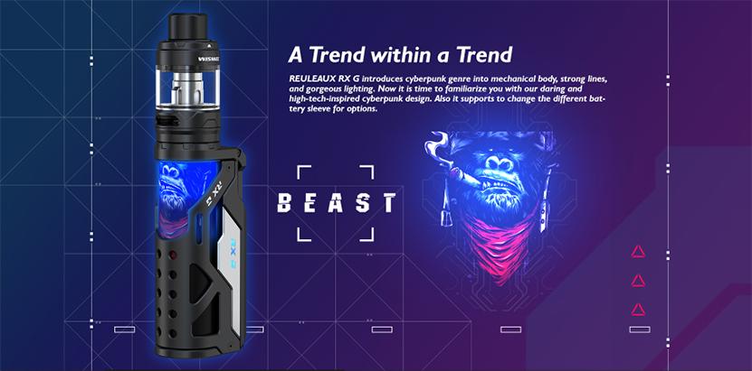 Wismec Reuleaux RX G Kit Trend