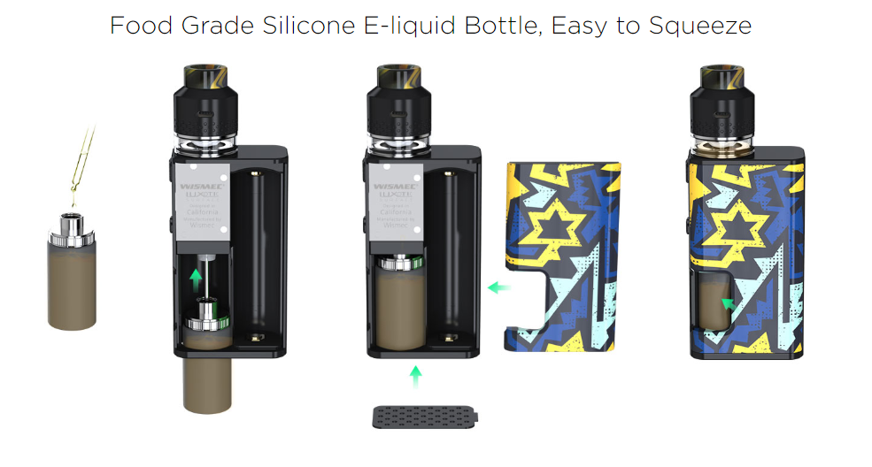 Wismec Luxotic Surface Vape Kit  Features 04