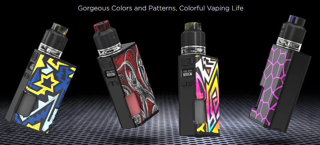 Wismec Luxotic Surface Kit Features 08