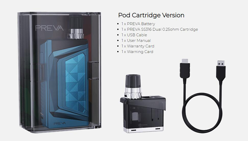 Wismec Preva Kit Feature 12