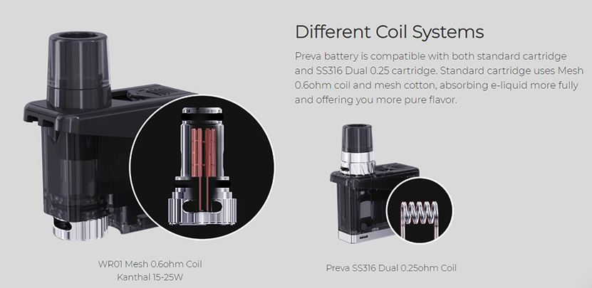 Wismec Preva Kit Feature 5
