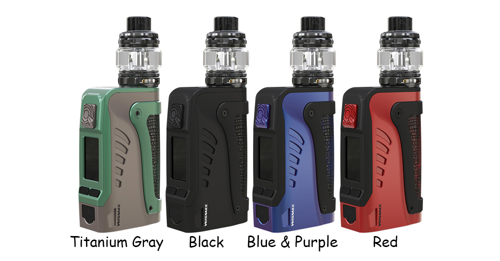 Wismec Reuleaux Tinker2 Kit 4 Colors