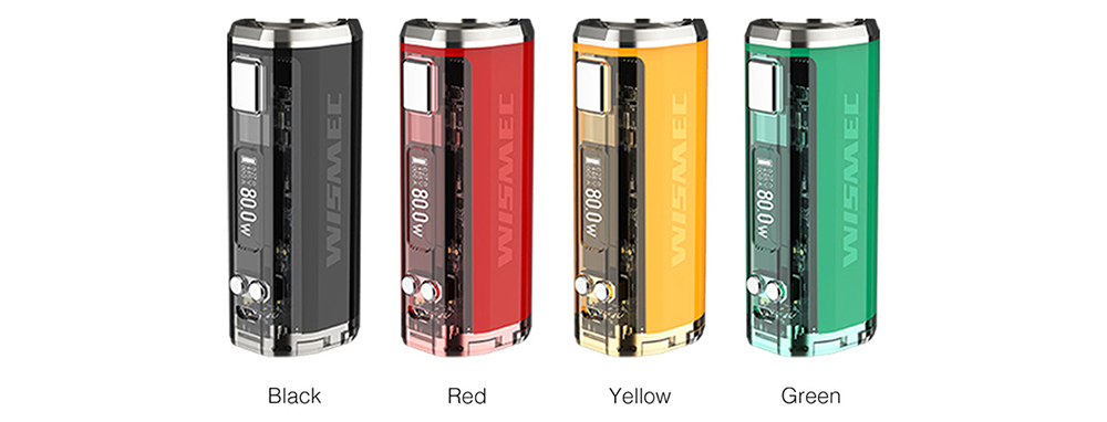 Wismec SINUOUS V80 Mod Colors
