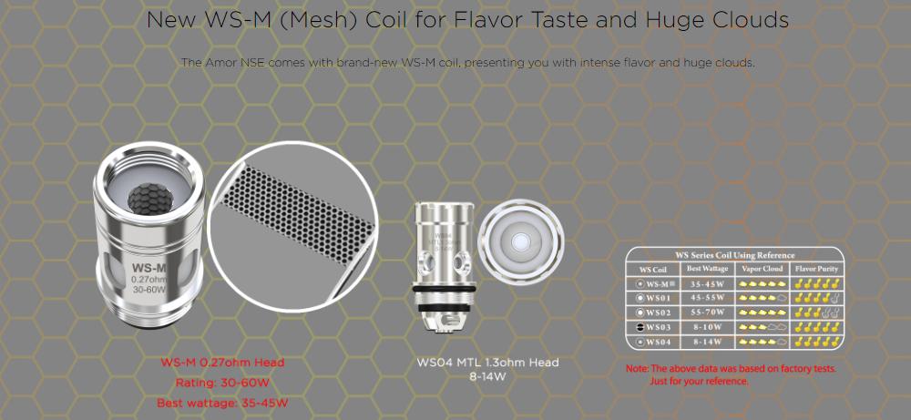 Wismec WS-M Coil