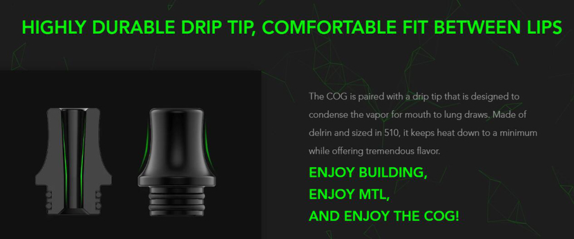 Wotofo COG MTL RTA Feature 5