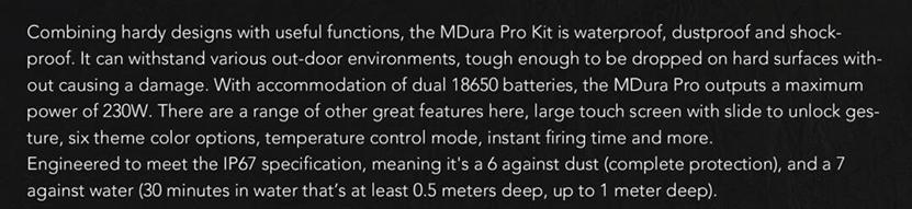 Wotofo MDura Pro Kit Feature 4