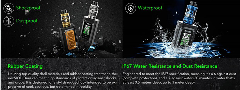 Wotofo MDura Pro Mod Waterproof