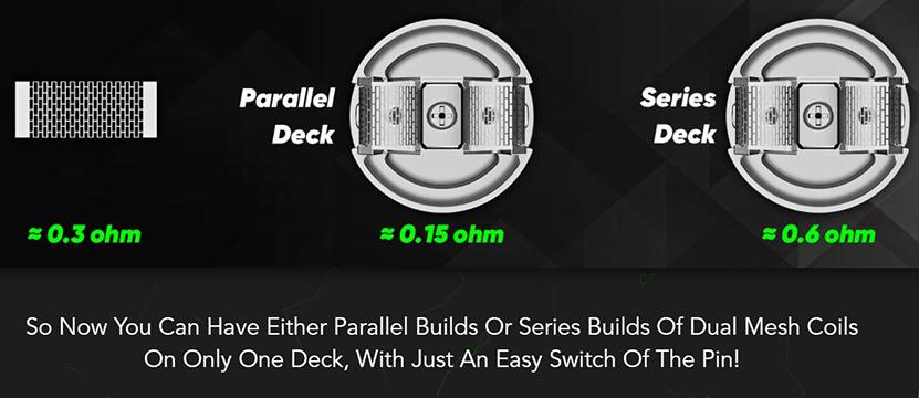 Wotofo Profile PS Dual Mesh RDA Feature 5