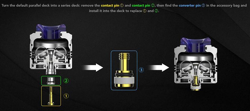 Wotofo Profile PS Dual Mesh RDA Feature 6
