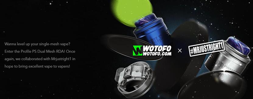Wotofo Profile PS Dual Mesh RDA Feature 8