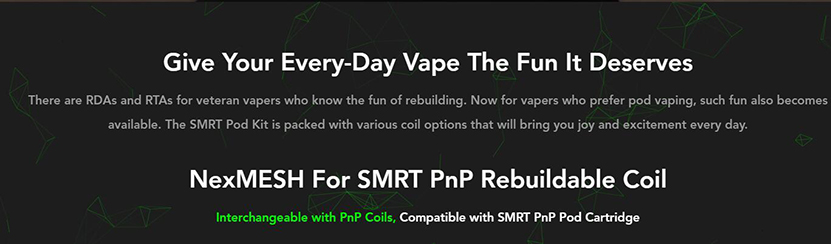 Wotofo SMRT Kit Feature 3