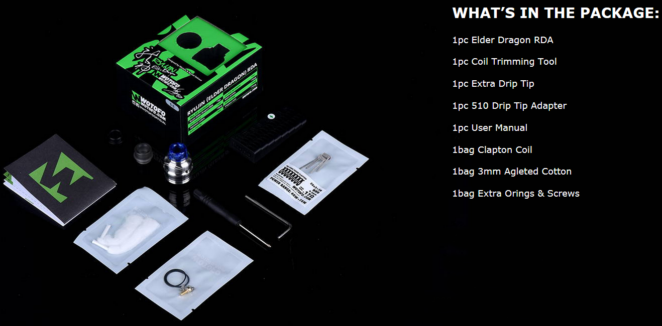 Wotofo Elder Dragon RDA Features 6