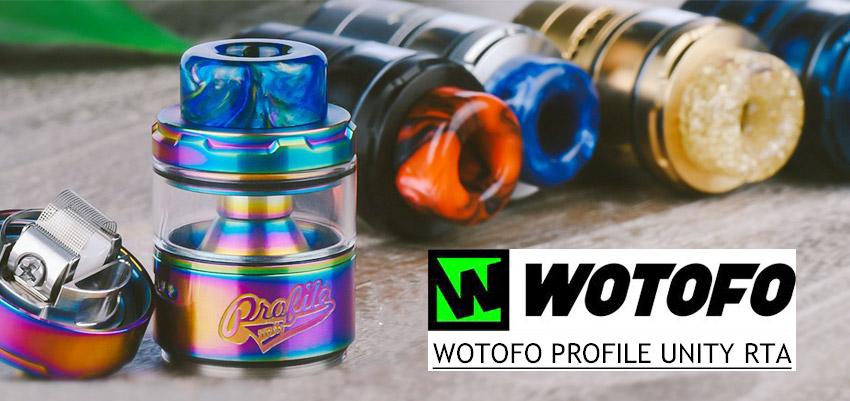 Wotofo Profile Unity RTA Banner