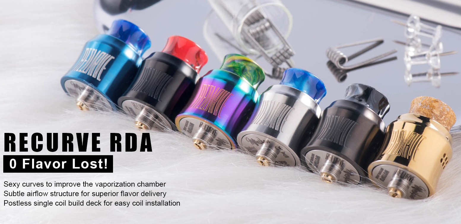 Wotofo Recurve RDA Features 2