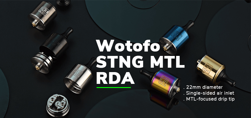 Wotofo STNG MTL RDA Banner