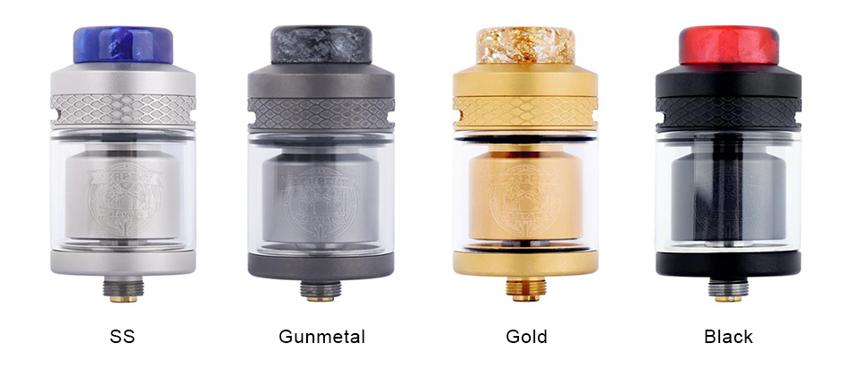 Wotofo Serpent Elevate RTA Colors