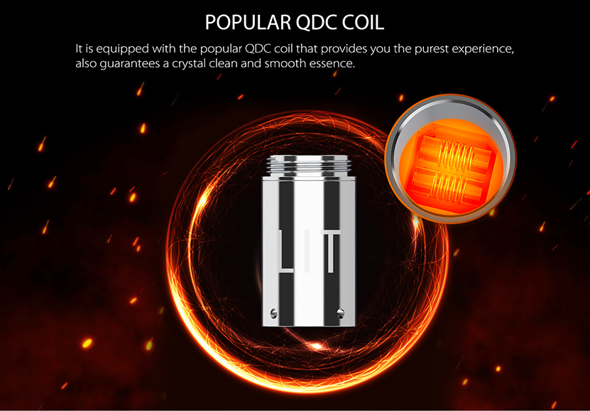 Yocan Lit Twist Kit QDC Coil